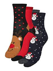 4 PACK - dámske ponožky VMHOHO