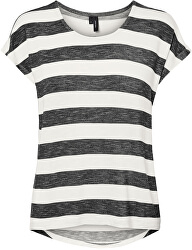 Női póló VMWIDE STRIPE