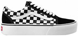Női tornacipő UA Old Skool Platform Checkerboard Blk/Tr Wht