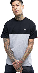 Bărbați tricou Colorblock Tee Black/Athletic Heather