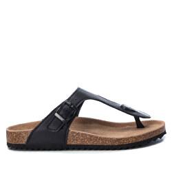Dámske žabky Black Pu Ladies Sandals