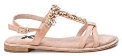 Dámske sandále Nude Microfiber Ladies Sandals