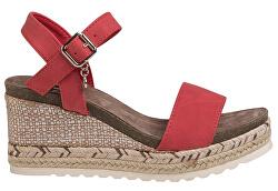 Dámské sandále Red Nobuk Pu Ladies Sandals