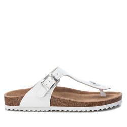 Dámske žabky White Pu Ladies Sandals