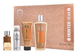 Hunter Man - EDP 100 ml + deodorant 50 ml + sprchový gel 100 ml + šampon 250 ml