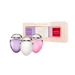 Kolekce miniatur Bvlgari Omnia Jewel Charm - EDT 3 x 15 ml