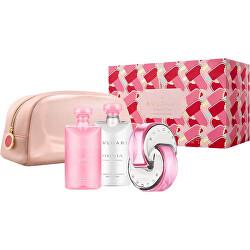 Omnia Pink Sapphire - EDT 65 ml + sprchový gel 75 ml + tělové mléko 75 ml + kosmetická taštička