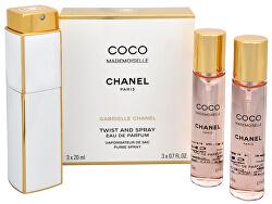 Coco Mademoiselle - EDP 20 ml (plnitelný flakon) + EDP náplň 2 x 20 ml
