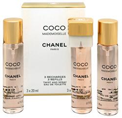 Coco Mademoiselle - EDT utántöltő (3 x 20 ml)