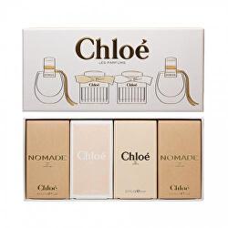 Miniatury Chloé - Nomade EDP 2 x 5 ml + Chloé EDP 5 ml + Chloé EDT 5 ml