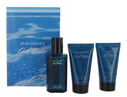 Cool Water Man - EDT 40 ml + sprchový gel 50 ml + balzám po holení 50 ml
