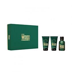 Green Wood - EDT 50 ml + sprchový gel 50 ml + balzám po holení 50 ml