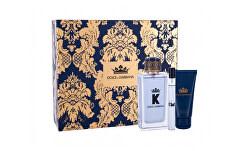 K By Dolce & Gabbana - EDT 100 ml + sprchový gel 50 ml + EDT 10 ml