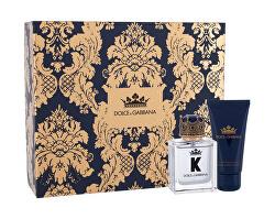 K By Dolce & Gabbana - EDT 50 ml + balzám po holení 50 ml