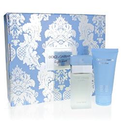 Light Blue - EDT 25 ml + tělový krém 50 ml