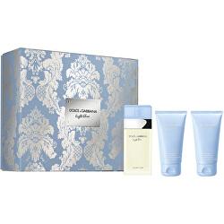 Light Blue - EDT 50 ml + tělový krém 50 ml + sprchový gel 50 ml