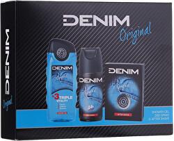 Original - voda po holení 100 ml + deodorant ve spreji 150 ml + sprchový gel 250 ml