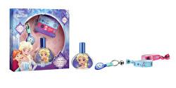 Disney Frozen - EDT 30 ml + klíčenka + 2x náramek