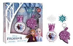 Disney Frozen - EDT 30 ml + sponky do vlasů + klíčenka