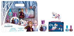 Disney Frozen - EDT 50 ml + 2x lak na nehty + pilník + kosmetická taštička
