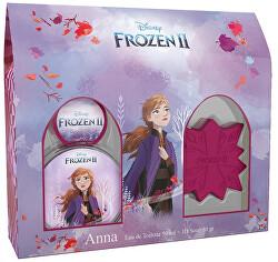 Disney Frozen II Anna - EDT 50 ml + mýdlo 50 g