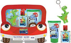 Eau My Dino - EDT 50 ml + sprchový gel 100 ml + přívěšek