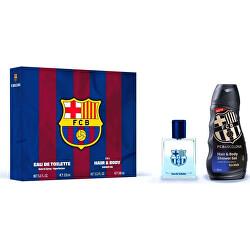 FC Barcelona - EDT 100 ml + sprchový gel 300 ml