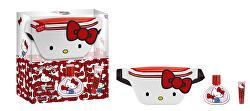 Hello Kitty - EDT 50 ml + balzám na rty + ledvinka