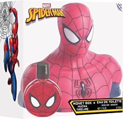 Spiderman - EDT 50 ml + pokladnička