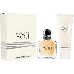 Emporio Armani Because It's You - EDP 50 ml + tělové mléko 75 ml