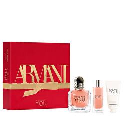 Emporio Armani In Love With You - EDP 50 ml + EDP 15 ml + crema mani 50 ml