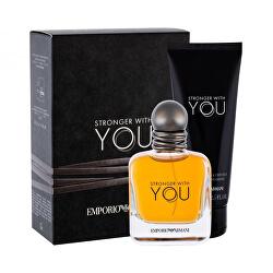 Emporio Armani Stronger With You - EDT 50 ml + 75 ml gel de duș