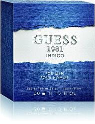Guess 1981 Indigo For Men - EDT
