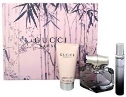 Gucci Bamboo - EDP 50 ml + tělové mléko 50 ml + roll-on 7,4 ml