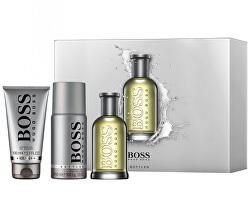 Boss No. 6 Bottled - EDT 100 ml + sprchový gel 100 ml + deodorant ve spreji 150 ml