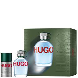Hugo - EDT 75 ml + tuhý deodorant 75 ml