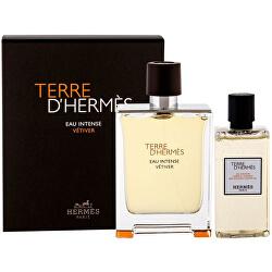Terre D`Hermes Eau Intense Vetiver - EDP 100 ml + sprchový gel 80 ml