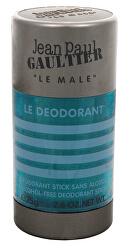 Le Male - tuhý deodorant