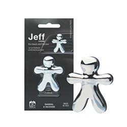 Jeff Chrome Sandal & Incense - vůně do auta
