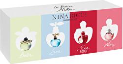 Nina Ricci mini sada - 4 x 4 ml