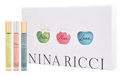 Nina Ricci mini sada - EDT 3 x 10 ml