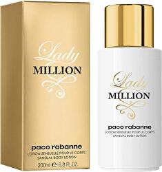 Lady Million - telové mlieko