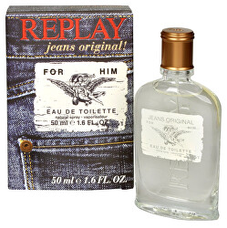 Replay Jeans Original For Him - EDT