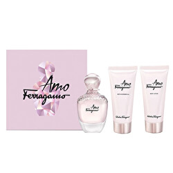 Amo Ferragamo - EDP 50 ml + tělové mléko 50 ml + sprchový gel 50 ml