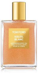 Soleil Blanc - třpytivý tělový olej (rose gold)