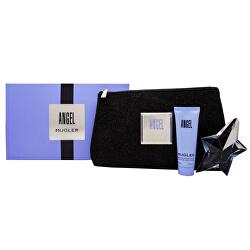 Angel - EDP 25 ml (plnitelná) +  tělové mléko 50 ml + kosmetická taštička