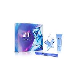 Angel - EDP 50 ml + telové mlieko 100 ml + parfumovaná kefka 7 ml