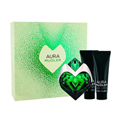Aura Mugler - EDP 50 ml + tělové mléko 50 ml + sprchové mléko 50 ml