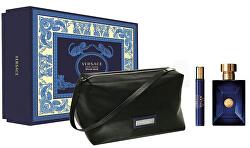 Versace Pour Homme Dylan Blue - EDT 100 ml + EDT 10 ml + kosmetická taštička