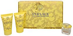 Yellow Diamond - EDT 5 ml + sprchový gel 25 ml + telové mlieko 25 ml